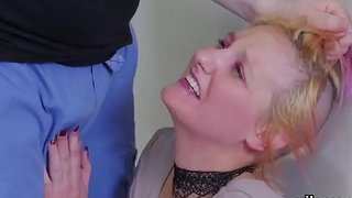 Wicked cutie is brought in butthole assylum for awkward therapy