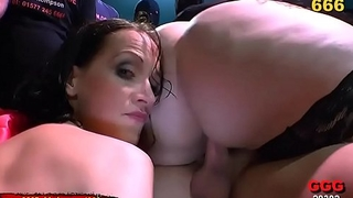 BBW and Skinny Sluts in Extreme Pissing Gangbang - 666Bukkake