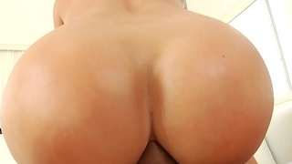 PAWG anal ride after car bathe a exhaust - Candice Dare