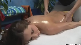 Hot playgirl sucking off impenetrable depths her massage therapist