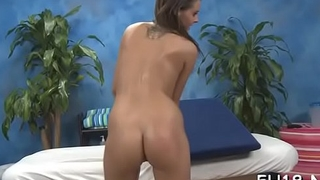 Very hawt gets drilled hard by her massage therapist