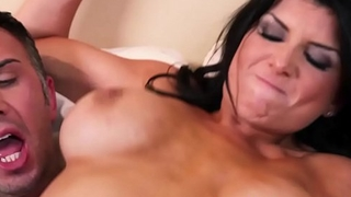 Big Tits teacher (Romi Rain) rides some cock - BRAZZERS
