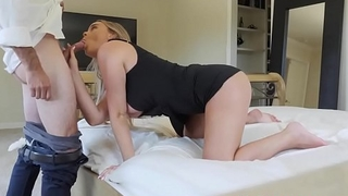 Grounded Slutty Daughter Alexis Adams Fucks Stepdad To Go To Party