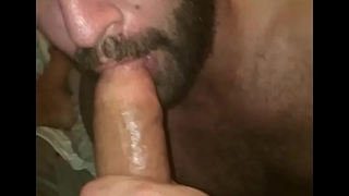 Sucking my 10 inch Neighbor