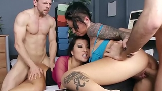 Doctors Adventure Foursome (Asa Akira, Christy Mack) - BRAZZERS
