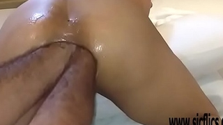 Double anal fisting Latinas greedy ass