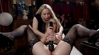 Hot babes fisting and fucking bdsm orgy