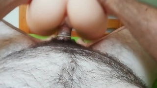 SEXTRI - Fake pussy fuck COMPLATION POV